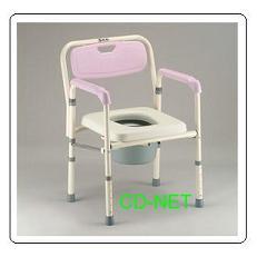 鋁質軟墊便器椅 JCS-102