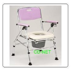 鋁質軟墊便器椅 JCS-206