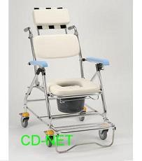 鋁質軟墊便器椅 JW010