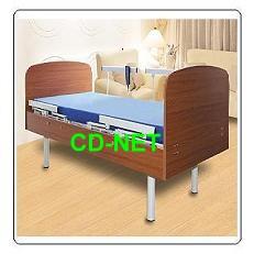 【YH-307B】電動護理床╱單馬達╱摺疊式護欄